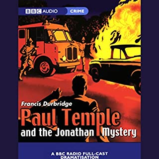 Paul Temple and the Jonathan Mystery (Dramatized) audiobook cover art