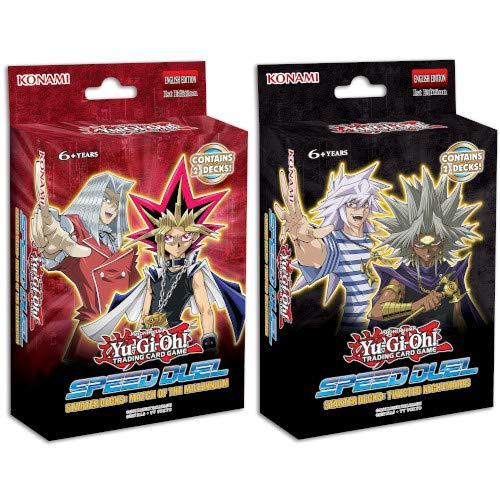 Kit Decks Iniciais Yu-Gi-Oh! Speed Duel Duelo Rápido Partida do Milênio e Pesadelos Perturbadores cards cartas konami