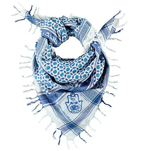 SEMITIC TRIBES Semitic Sudra Premium Scarf, Cotton, 45x45 Inches wrap scarf