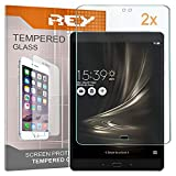 2X Protector de Pantalla para ASUS ZENPAD 3S 10 (9,7'), Cristal Vidrio Templado Premium, Táblet