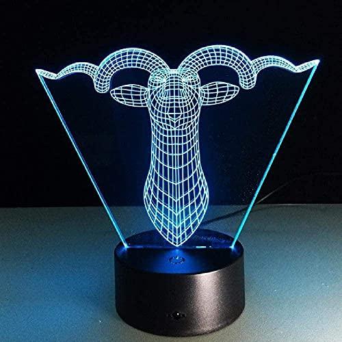 3D llevó la luz USB lindo delfín saltando Hula Hoop forma multicolor 3D noche luz táctil decoración 16 color Control remoto