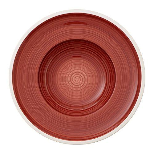 Villeroy & Boch 10-4238-2700 Manufacture rouge Suppenteller, Premium Porzellan