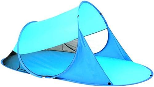WYGRACE Tente De Plage De 2 Personnes Tente LéGèRe ExtéRieure RéSistante UV LéGèRe De Camping ExtéRieure pour La Plage Camping RandonnéE SpéLéOlogie Pique-Nique Oxford