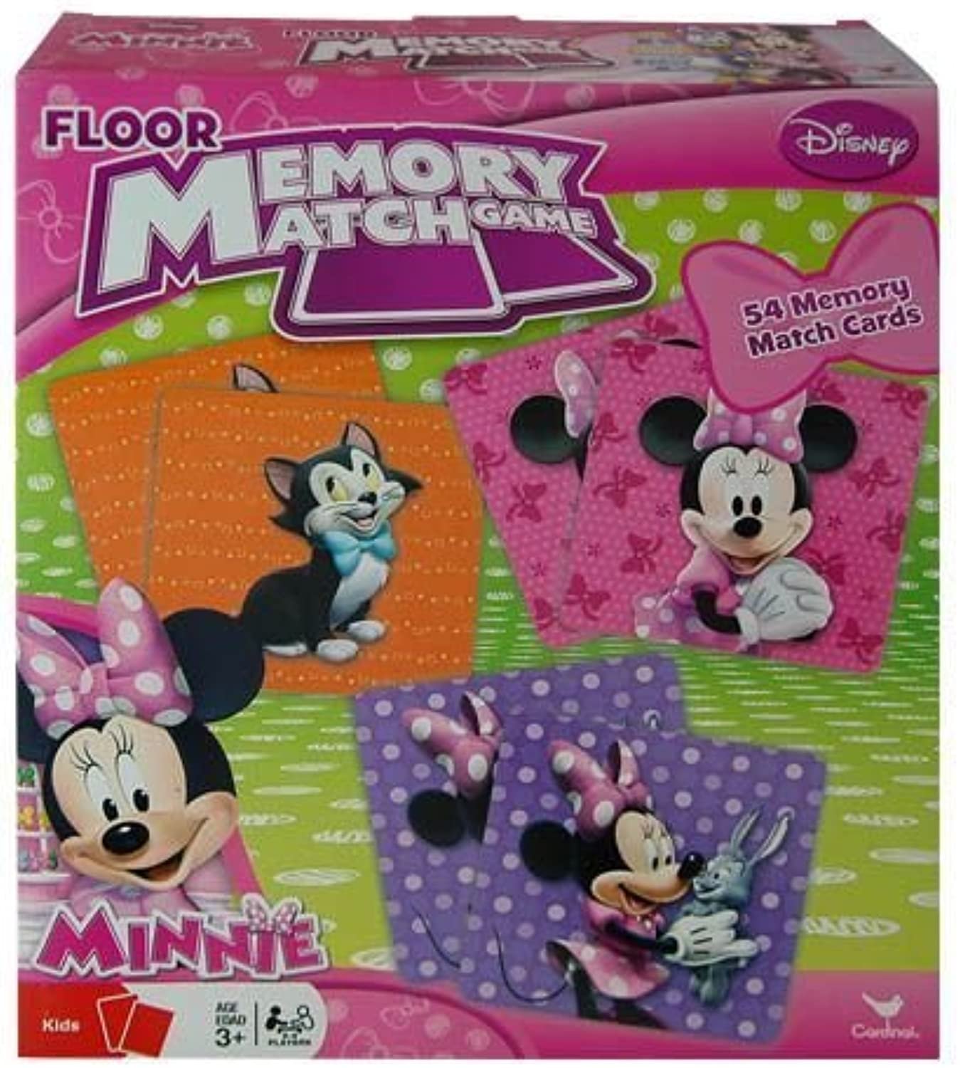 Minnie Mouse Bowtique Floor Memory Match Game by Cardinal