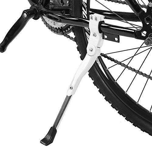 """LYCAON Bike kickstand Bicycle Side Kickstand Aluminum Alloy Adjustable Universal Bike Support Stand with Non-Slip Rubber Foot Cycling kickstand for 26/""""-28/"""" Mountain Bike//Road Bike"""