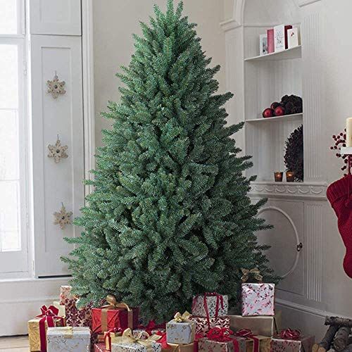OasisCraft Christmas Tree 6.5ft Premium Hinged Blue Spruce Artificial Christmas Tree, Unlit