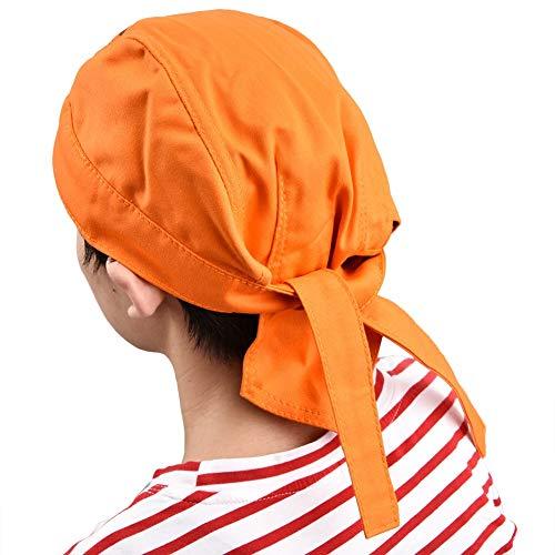 Soldador protector de cabeza resistente al fuego ignífugo lavable Tipo de bandana, Seguro de trabajo Soldador Sombrero anti escaldado Gorro de trabajo Equipo de protección para soldadura