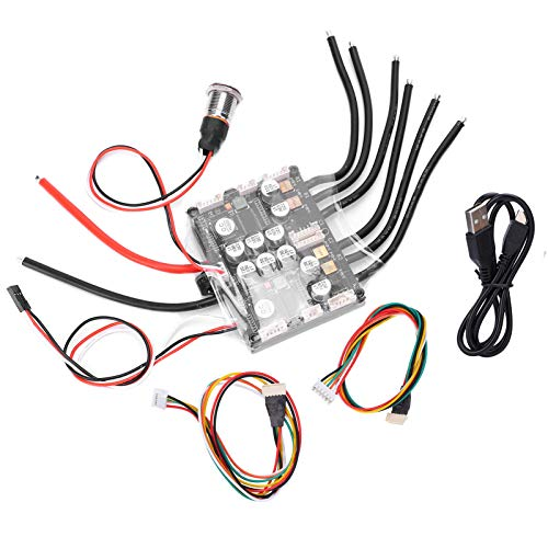 Controlador de accionamiento de Doble Montaje ESC FSESC Interruptor de patín eléctrico...