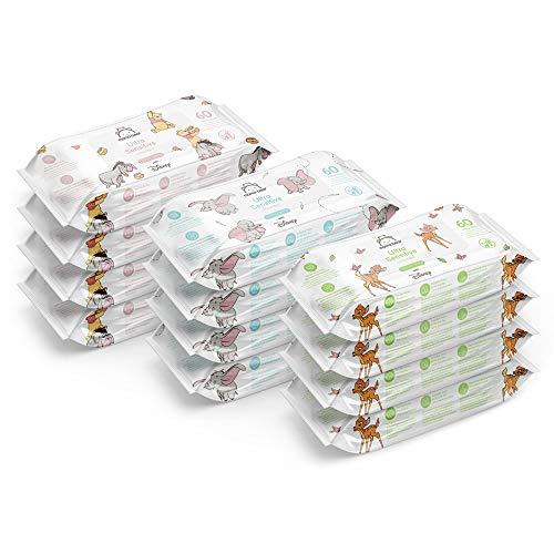 Mama Bear - Disney - Lingettes biodégradables pour peaux ultra-sensibles (12x60   720 lingettes)