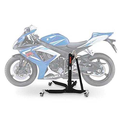 ConStands Power Classic-Zentralständer Suzuki GSX-R 750 06-10 Schwarz Matt Motorrad Aufbockständer Heber Montageständer