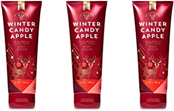 Bath & Body Works Winter Candy Apple Ultra Shea Body Cream - 2018 Edition - Lot of 3
