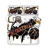 Completo Copripiumino Basket E Corse Set...