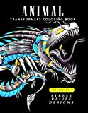 Animal Transformers coloring book: Robot Design for Adults, Teen, Kids, boy and Girls who love Robot