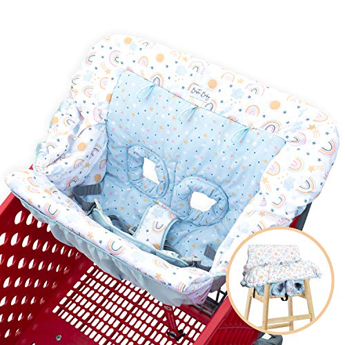 Bristin Baby Shopping Cart Cover. Cushy Baby Hammock for Shopping Cart and...