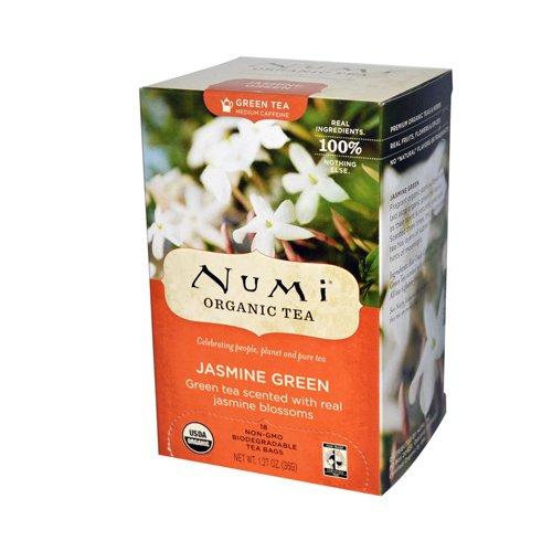 Numi Organic Tea Jasmine Green - 18 Tea Bags
