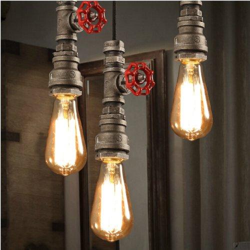 Lightinthebox - Lámpara de techo colgante para barra de restaurante, diseño retro