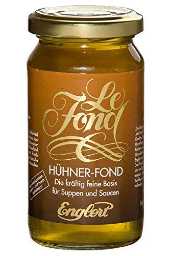 Hühner-Fond - Bratensoße, Sauce, Grundbrühe (200 ml. / Glas)