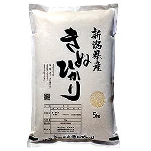 """新潟県産 キヌヒカリ 白米 5kg 令和元年産"""""""