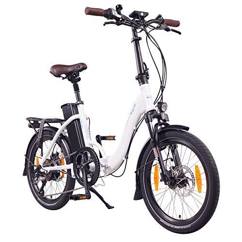 """NCM Paris+ 20"""" E-Bike, E-Faltrad, 36V 19Ah 684Wh Weiß"""