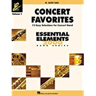 Concert Favorites: E Flat Alto Sax: 1 (Essential Elements 2000 Band) by Hal Leonard Publishing Corporation (Corporate Author), Michael Sweeney (Creator), Paul Lavender (Creator) � Visit Amazon's Paul Lavender Page search results for this author Paul Lavender (Creator), (1-Oct-2002) Paperback
