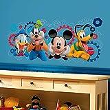 Material: Vinyl, Color: Multicolor Package Contents: 1 Vinyl Sticker Item Size: 60 cm x 5 cm x 5 cm Removable Decorate & Beautify your Walls