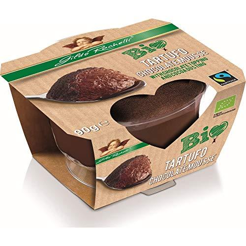 Rachelli Bio 90g BIO FAIR TRADE Frische Dessert TARTUFO Mousse au Chocolat (6 x 90 gr)