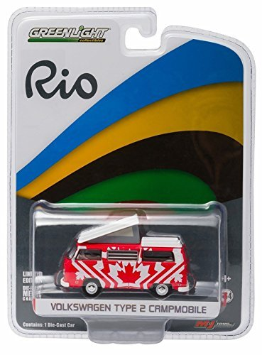 Greenlight 2016 Rio World Games Olympics Set of 6 Volkswagens Limited Edition to 3,000pcs 1/64 by 51037 by