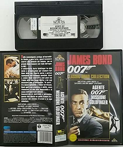 Agente 007 - Missione Goldfinger (Classic Bond Collection) [VHS]