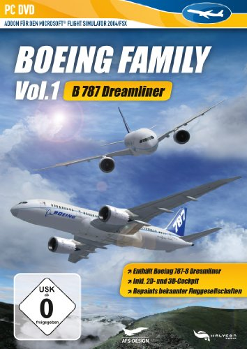 Microsoft Flight Simulator 2004/FSX - Boeing Family Vol. 1: B787 Dreamliner (AddOn) - [PC]