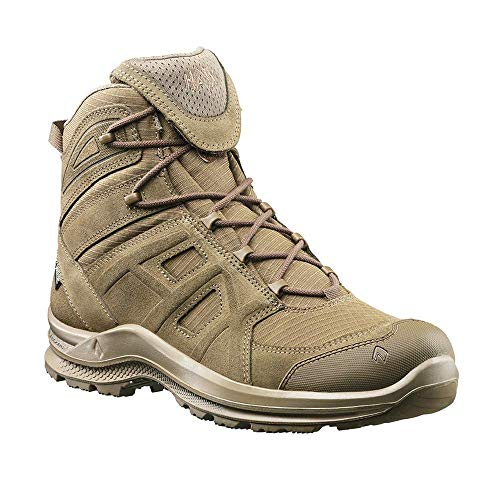 Haix Black Eagle Athletic 2.0 V GTX mid/Coyote Modernes Veloursleder kombiniert mit Gore-TEX. 44