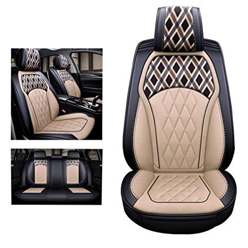 SZ JIAOJIAO Set Carseat Protectors Compatibel met Volvo: XC40, XC60, XC70, XC90, S40, S60, S80, S90, V40, V60, V70, V90