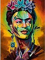 クロスステッチ刺繍キットDIY大人初心者子供-ステッチクラフト針仕事-自分でやる家の装飾のためのアートクロスステッチ11ct40x50cm-女神
