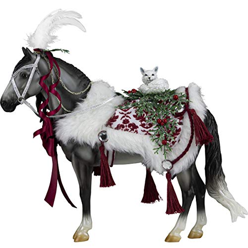 Breyer Horses 2021 Holiday Collection | Traditional Series Holiday Horse - Arctic Grandeur | Model #700124
