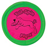 Booda Tail-Spin Flyer 10' Diameter Floppy Dog Frisbee (Pack of 2)