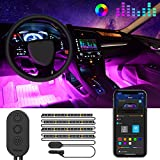 Striscia LED Auto con APP, Govee Luci LED Interne per...