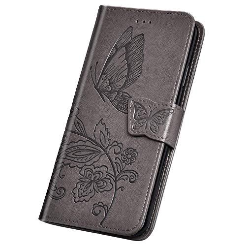 Herbests Kompatibel mit Samsung Galaxy Note 9 Handyh/ülle H/ülle Flip Case Bunt Glitzer Muster Leder Schutzh/ülle Klappbar Bookstyle Lederh/ülle Ledertasche mit Magnet Kartenfach,Rosa Eule