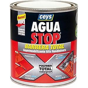 Ceys M276228 – Impermeabilizante aguastop barrera total gris 1 kg