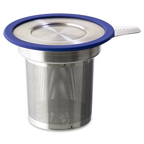 Check Out This FORLIFE  Brew-in-Mug Extra-Fine Tea Infuser with Lid, Marine