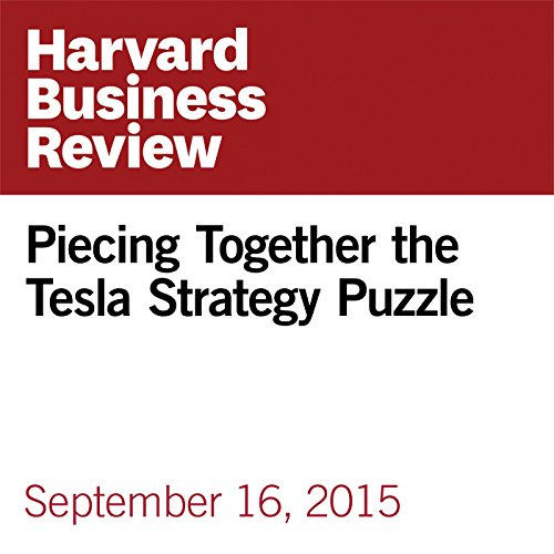 Piecing Together the Tesla Strategy Puzzle copertina
