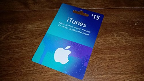 Apple iTunes Prepaid Card $15