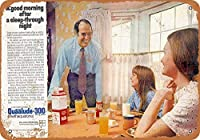 1971 Quaalude 300メタルレトロな壁の装飾ティンサインバー、カフェ、家の装飾