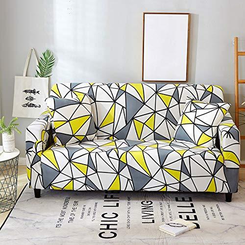 Xin Hai Yuan Stretch Plaid Sofa Schonbezug Elastische Sofabezüge Für Wohnzimmer Funda Sofa Stuhl Couchbezug Wohnkultur 1/2/3/4-Sitzer,K,2 Seater