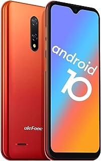 携帯電話ロック解除、Ulefone 2020 Note 8P 4GスマートフォンSIMフリーロック解除、Android 10 GO、2GB RAM 16GB ROM、5.5インチ水滴フルスクリーン、トリプルカードスロット、デュアルカメラ (Am...