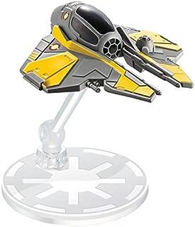Hot Wheels Star Wars Anakin Skywalker's Jedi Starfighter Vehicle