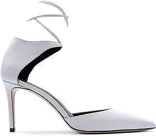 ALDO CASTAGNA Luxury Fashion Womens ELISE18080AVORIO White Pumps | Fall Winter 19