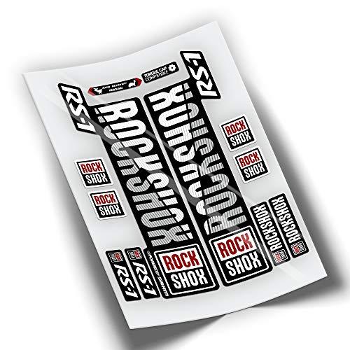 Adhesivos Pegatinas Horquilla ROCKSHOX RS-1 WP245