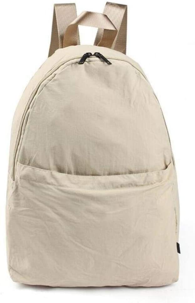ZYSAJK Solid Color Casual Backpacks Women Shoulder Bag Nylon Teenage Girl School Bag Trend Backbag Fashion Women Backpack