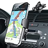 Ultra Stable CD Car Phone Holder, OQTIQ CD Slot & Air Vent Universal CD Cell Phone Mount for Car CD Player, Compatible with iPhone 13 12 Samsung Galaxy LG and More