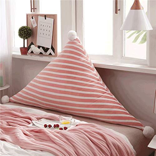 LOVELY Baby Products Coussins triangulaires Doux et Chauds pour lit de bébé, a, 120 cm