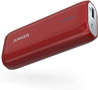 Anker Astro E1 6700mAh Cargador portátil Ultra Compacto Batería Externa con tecnología PowerIQ para iPhone, iPad, Samsung, Nexus, HTC, Huawei y más (Rojo)